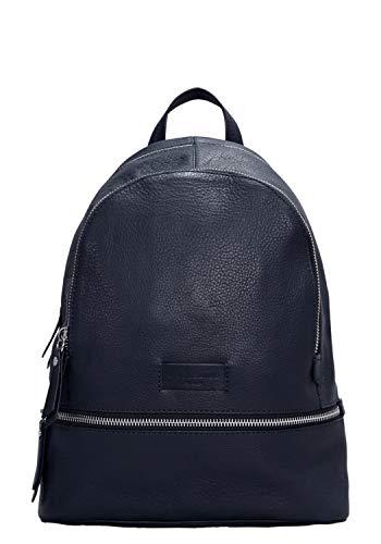 Liebeskind Berlin Damen Essential Lotta Backpack Small Rucksackhandtasche, Blau (Navy Blue) 11x32x26 cm
