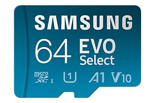 Samsung EVO Select 64GB microSDXC UHS-I...