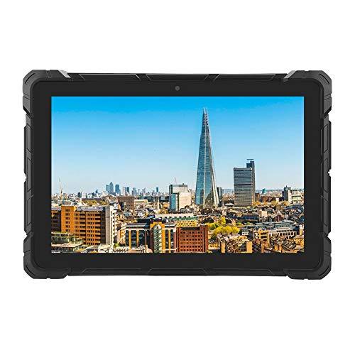 Deansh Tableta Impermeable, Tableta portátil de 10.1 Pulgadas para Intel Z8350 RK3399 para WIN10, Tableta de 3 Pruebas 4 + 64G con código de Clave 100-240V(Enchufe de la UE)