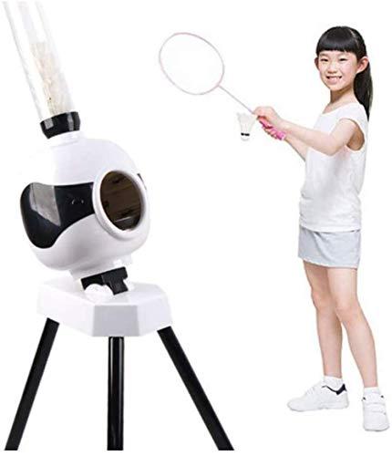 Badmintonausrüstung Einfache Installation Übungsmaschine Tragbar Einstellbarer Winkel für Badminton-Anfänger, Outdoor-Sportarten, Kinder, Spielzeug, Eltern-Kind-Interaktion, Freizeit, Unterhaltung