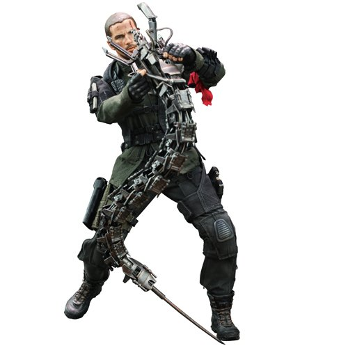 Movie Masterpiece [Terminator 4] John Connor (Versus Hydrobot) 1/6