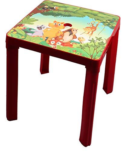 PARADISO Kinder Tisch, Rot