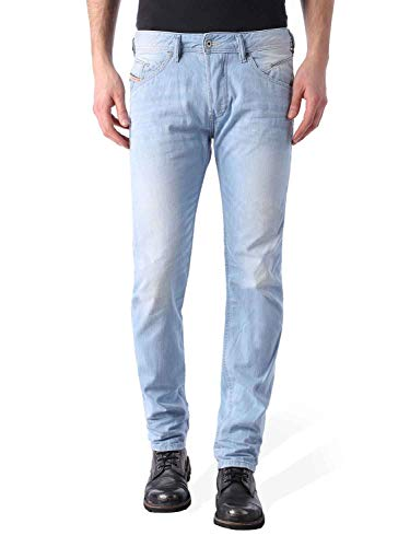 Price comparison product image Diesel - Mens Belther Tapered Jeans,  Wash: 0852I,  Size: 31W x 32L,  Color: Denim