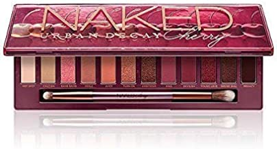 Urban Decay Naked Cherry Eye Pallet (12x0.038 Eyeshadow + Double Ended Smudger/Tapered Crease Brush)