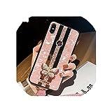 高級クリエイティブミラーファッション3D象眼蝶電話ケースfor iphone X XR XSマックス11プロマックスカバーfor iphone 7 8 6プラスケース,for iphone 7(8),Case Strap A2