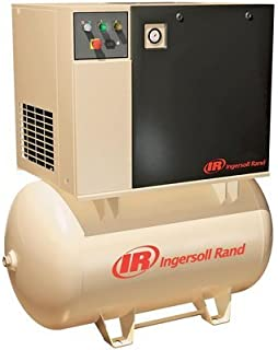 Ingersoll Rand Rotary Screw Compressor - 230 Volts, Single Phase, 7.5 HP, 28 CFM, Model Number UP6-7.5-125