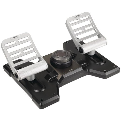 Saitek Scb432020002/02/1 Pc Pro Flight Combat Rudder Pedals