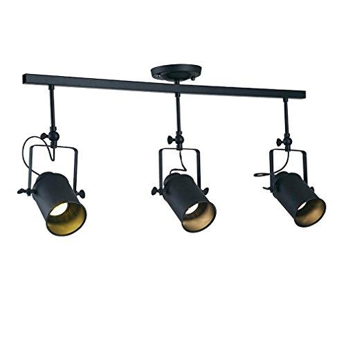 GRFH Backdrop LED Downlights Track Light Kleidungsstück Shop Spotlight Retro Industrial Guide Lampe Shop Outfit Spotlight