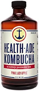 HealthAde Pink Lady Kombucha Bottle, 16 fl oz