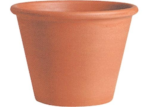 イタリア製 テラコッタ鉢 バッサム 21cm(20) 植木鉢