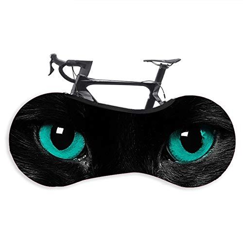 Cubierta para rueda de bicicleta, cubierta para el polvo para interiores y exteriores, para bicicleta de montaña, bolsa de almacenamiento elástica para protección de bicicleta (24-26 pulgadas)