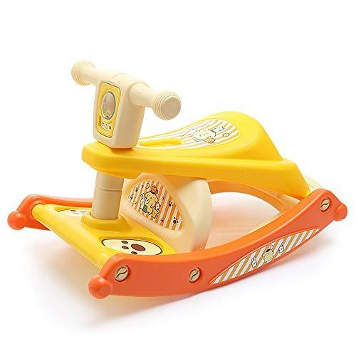Read About XINGXIANYIGOU Baby Rocking Horse, Multifunctional Plastic Rocking Horse Children Rocking ...