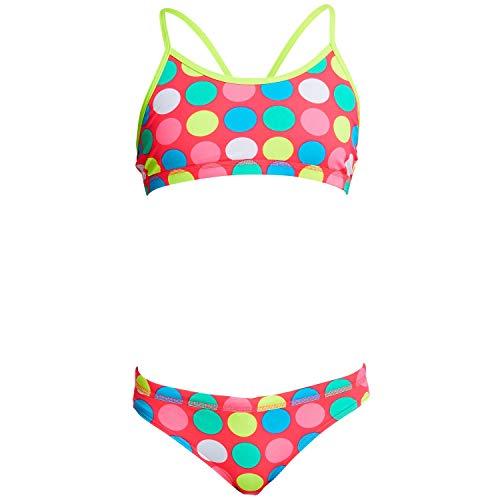 Funkita Bikini Mädchen Twister für Strand oder Schwimmbad, Kinder Größen:152