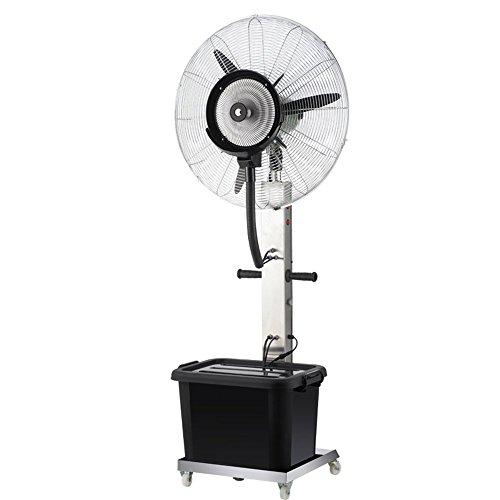 GPWDSN Enfriamiento Ventilador De Piso, Spray Industrial Ventilador con La Atomización De Agua Al Aire Libre (Tamaño: 650 Mm Fijo)