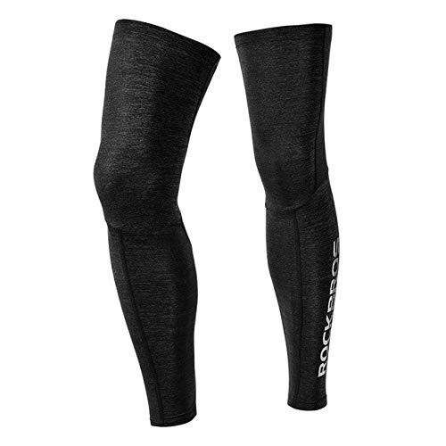Fahrrad Bein warme Kleidung Kompression Knieschützer Leggings Outdoor-SportFußball Laufen Leggings-Modell D, M