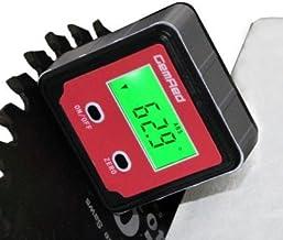 GemRed 82412 Mini Digital Level Angle Gauge Angle Finder Protractor Inclinometer Aluminum Framework with Magnet