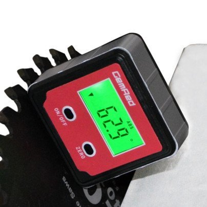 GemRed 82412 Mini Digital Level Angle Gauge Angle Finder Protractor
