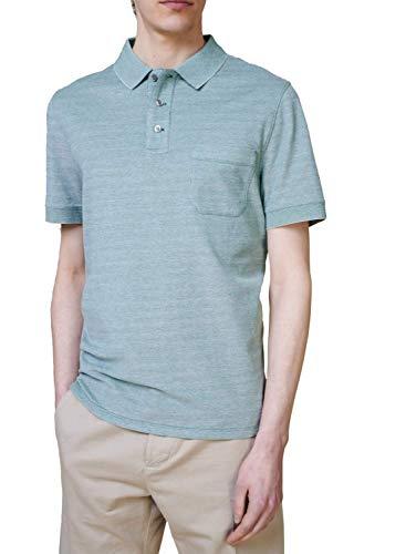 märz münchen Shirt Polohemd, Knopf 1/2 Arm, grün(spanishgreen (278)), Gr. 50