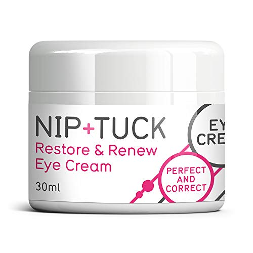 NIP TUCK & RESTORE & RENEW crème contour des yeux anti-âge PETITS PAS DE SACS CERNES plus de rides
