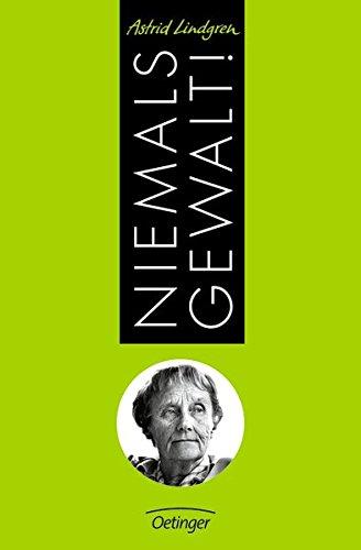 Buchseite und Rezensionen zu 'Niemals Gewalt!' von Astrid Lindgren