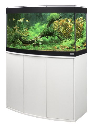 Fluval A11821 Panorama-Aquariumkombination Vicenza, 180 l, weiß