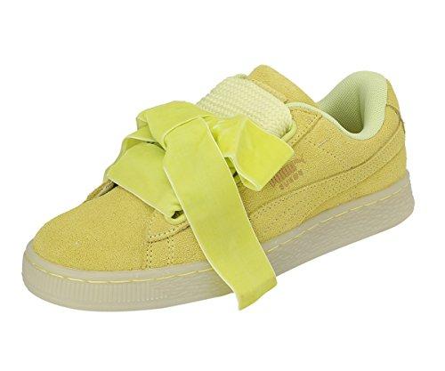 Puma Suede Heart Reset Donna Sneaker Giallo