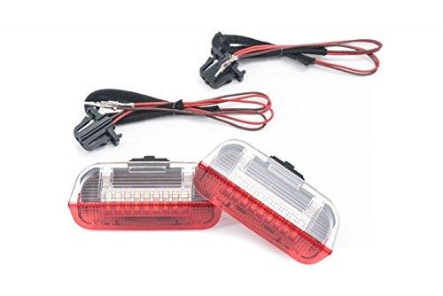 Vorne LED Türwarnleuchte Einstiegs- Türleuchte Umfeldbeleuchtung Links+Rechts