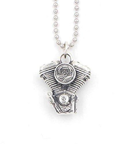 Collana Miracle Motore Harley Davidson Argento 925