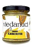 Viedanuci - Crema de untar de almendras crujientes, 170 g (pack de 2)