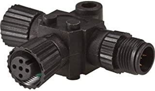 Lowrance T Connector for use with red NMEA 2000 Network, MFG# 000-0119-79. Used to add Additional Devices to Network red connectors. N2K-T-RD/LOW-000-0119-79 /