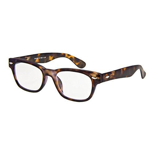 I NEED YOU Lesebrille Woody / +3.00 Dioptrien/Havanna, 1er Pack
