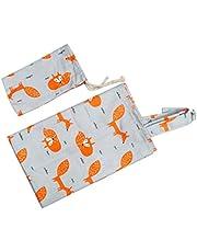 Healifty Verpleging kussensloop borstvoedingsbescherming voor zuigelingen voederhoes met opbergtas baby shower geschenken (golvendheid)