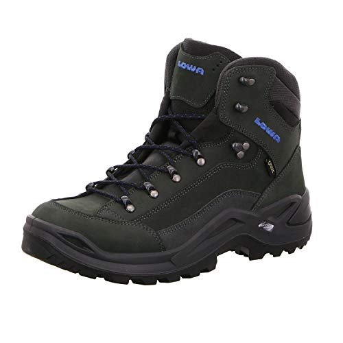 LOWA Renegade GTX Mid Outdoor Schuhe anthrazit-blau - 44