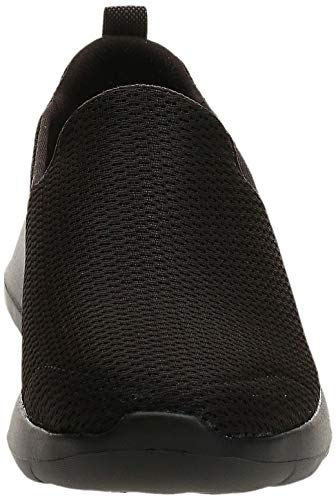 Skechers mens Go Walk Max-athletic Air Mesh Slip on Walking Shoe Sneaker, Black, 11 X-Wide US