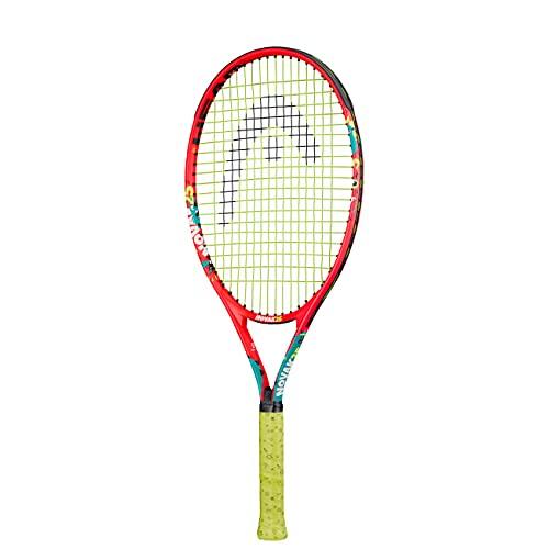 Head Novak 25 Raqueta de Tenis, Juventud Unisex, Multicolor,...