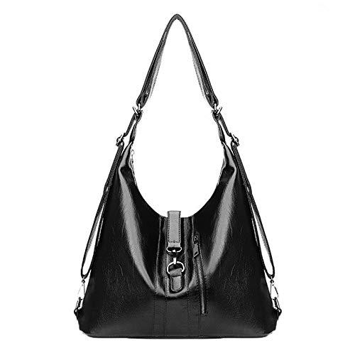 Handtaschen, Umhängetasche, multifunktional, für Damen, aus PU-Leder, hohe Kapazität, Handtasche für Frauen, grau (Grau) - 79jhgj