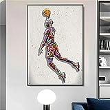ngitngit Michael Jordaner Poster Fly Dunk Basketball