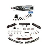 Dremel 8220-1/28 12-Volt Max Cordless Rotary Tool With All-Purpose Rotary Accessory Kit, 160-Piece