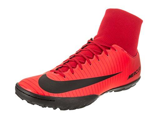 Nike Mercurialx Victory VI DF TF, Scarpe da Calcio Uomo, Rosso (University Rosso/Nero/Bright Crimson 616), 42.5 EU