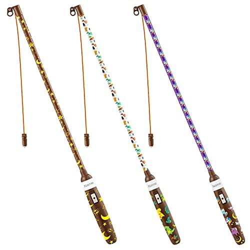 Addjoy 3×Laternenstab Elektrisch LED 50cm Baselset für Sankt Martin Laternenumzüge Martinsumzüge (A- ALLE 3 Set)