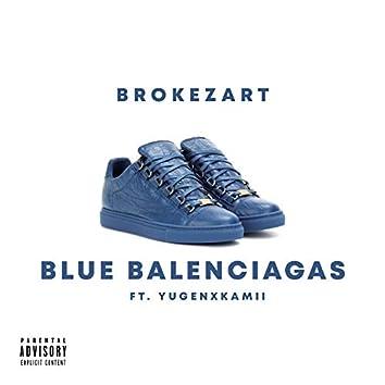 Blue Balenciaga's