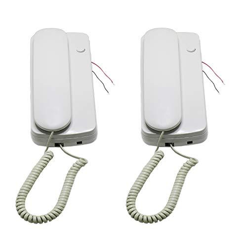 hosecurity nueva dos manera no visual con cable audio de comunicación de Doorphone por hosecurity