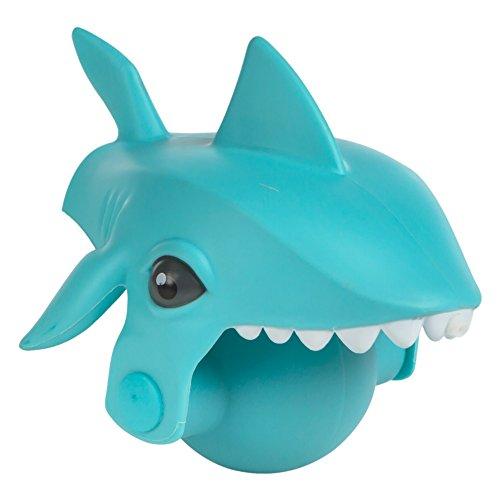 Eolo - Lanzador de agua con forma de tiburón azul Aqua Kidz