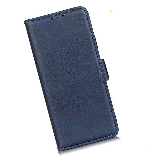Boleyi Schutzhülle für Motorola Razr 5G, [ Magnetverschluss, Kartenfach, Standfunktion ] Handytasche Flip Brieftasche Schutzhülle Magnet Wallet Hülle Tasche Lederhülle für Motorola Razr 5G,Blau