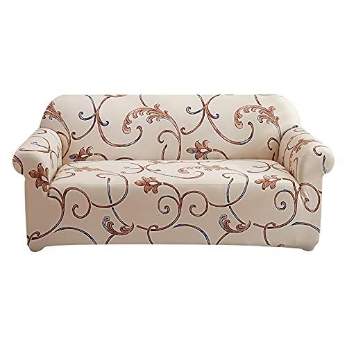 WXQY Funda de sofá Flexible,Funda de sofá en Forma de L para salón,Funda Protectora de sofá de poliéster,Funda de Mueble Lavable A3 2 plazas