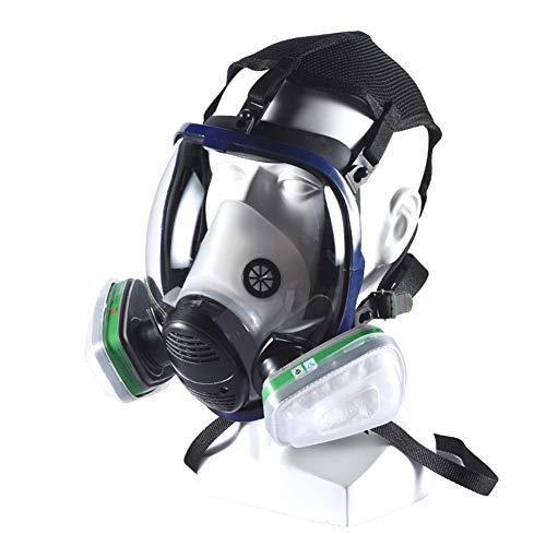 Gasmasker Full Face Beademingsmasker Herbruikbare, Eye En Schedel Masker Van De Bescherming Voor Het Schilderen