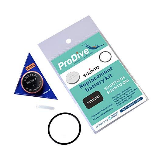 Batterie Kit für SUUNTO D6 D6i