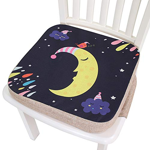 Purchase Baby Increased Pad Booster Seat Cushion, Adjustable Removable Kids Dining Chair Baby Highchair Seat Pad,Three Height Adjustable Children Dining Chair Cushion