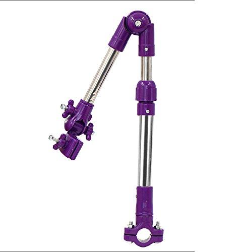 Porte-parapluie / porte-parapluie vélo / télescopique / pliant / rotatif / porte-parapluie multi-fonction ( Couleur : Violet )