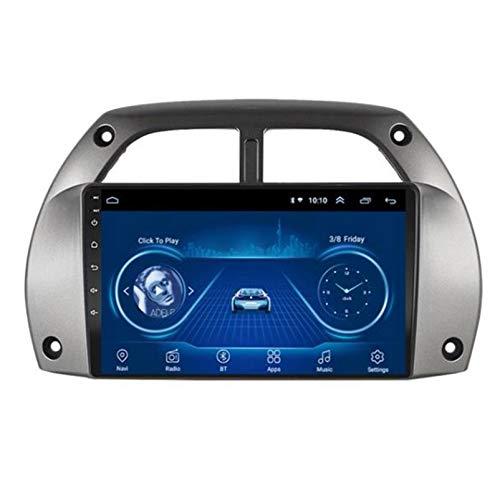 PLOKM Car Stereo GPS De Navegación 9 Pulgadas 1080p Pantalla Táctil Radio...